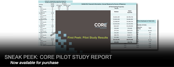 CORE Pilot Study Report
