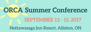 ORCA Summer Conference 2017