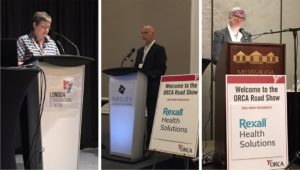 Moving presentations by ODAG representatives Mary Beth Wighton, Keith Barrett and Catherine Nanton