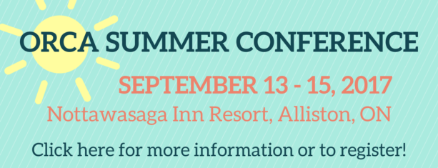 ORCA SUMMER CONFERENCE