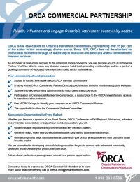 ORCA Commercial Partnership