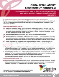 ORCA Regulatory Assessment Program